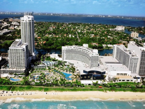 Last Minute Florida im Fontainebleau Hotel (Miami Beach)